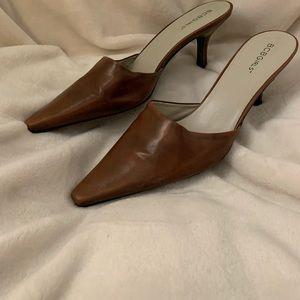 BCB Girls brown 2 inch heels